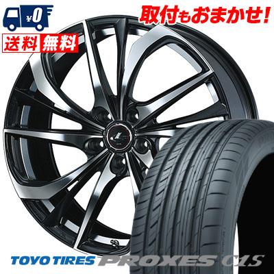 245/35R20 95W TOYO TIRES トーヨー タイヤ PROXES C1S プロクセスC1S weds LEONIS TE ウェッズ レオニス TE サマータイヤホイール4本セット