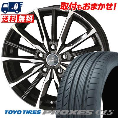 225/40R18 92W TOYO TIRES トーヨー タイヤ PROXES C1S プロクセスC1S SMACK VALKYRIE スマック ヴァルキリー サマータイヤホイール4本セット【取付対象】