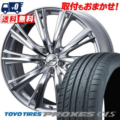 215/65R15 96V TOYO TIRES トーヨー タイヤ PROXES C1S プロクセス C1S weds LEONIS WX ウエッズ レオニス WX サマータイヤホイール4本セット