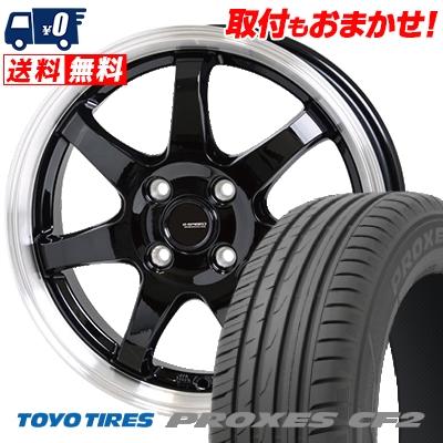 185/60R15 84H TOYO TIRES トーヨー タイヤ PROXES CF2 プロクセス CF2 G.speed P-03 ジースピード P-03 サマータイヤホイール4本セット【取付対象】
