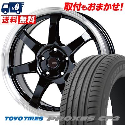 225/55R16 95V TOYO TIRES トーヨー タイヤ PROXES CF2 プロクセス CF2 G.speed P-03 ジースピード P-03 サマータイヤホイール4本セット