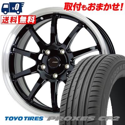 215/50R17 95V TOYO TIRES トーヨー タイヤ PROXES CF2 プロクセス CF2 G.speed P-04 ジースピード P-04 サマータイヤホイール4本セット