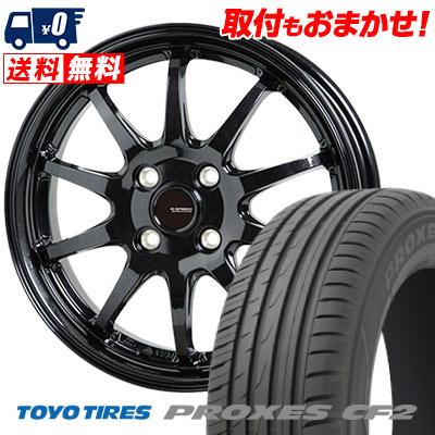 215/45R16 90V TOYO TIRES トーヨー タイヤ PROXES CF2 プロクセス CF2 G.speed G-04 Gスピード G-04 サマータイヤホイール4本セット