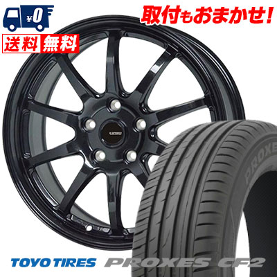 225/55R16 95V TOYO TIRES トーヨー タイヤ PROXES CF2 プロクセス CF2 G.speed G-04 Gスピード G-04 サマータイヤホイール4本セット