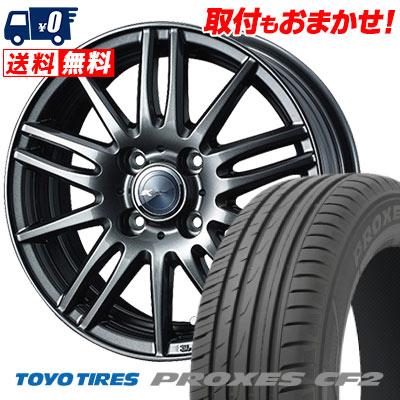 215/45R16 90V TOYO TIRES トーヨー タイヤ PROXES CF2 プロクセス CF2 Zamik Tito ザミック ティート サマータイヤホイール4本セット