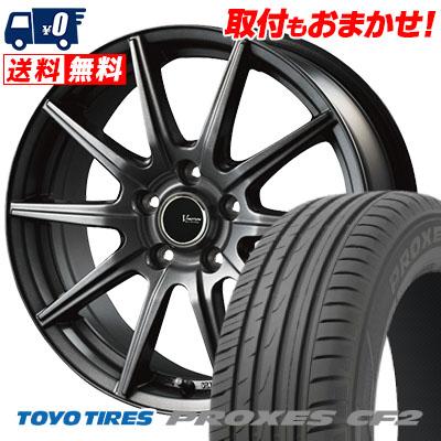 205/60R15 91H TOYO TIRES トーヨー タイヤ PROXES CF2 プロクセス CF2 V-EMOTION GS10 Vエモーション GS10 サマータイヤホイール4本セット