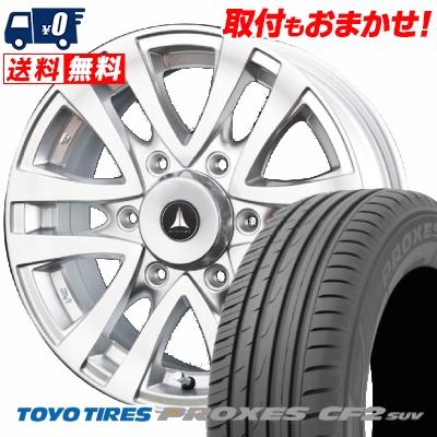 205/70R15 96H TOYO TIRES トーヨー タイヤ PROXES CF2 SUV プロクセス CF2 SUV MUD CLIFF マッドクリフ サマータイヤホイール4本セット