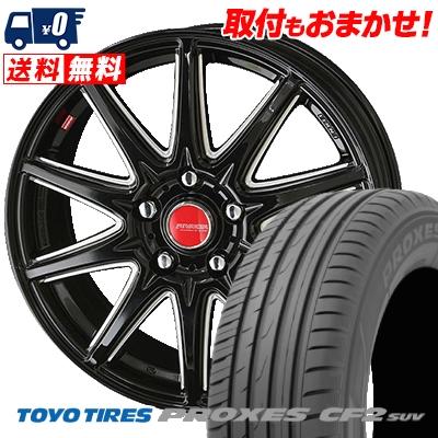215/60R16 95H TOYO TIRES トーヨー タイヤ PROXES CF2 SUV プロクセス CF2 SUV RIVAZZA CORSE リヴァッツァ コルセ サマータイヤホイール4本セット