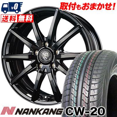 215/70R15 109/107S NANKANG ナンカン CW-20 CW-20 TRG-GB10 TRG GB10 サマータイヤホイール4本セット