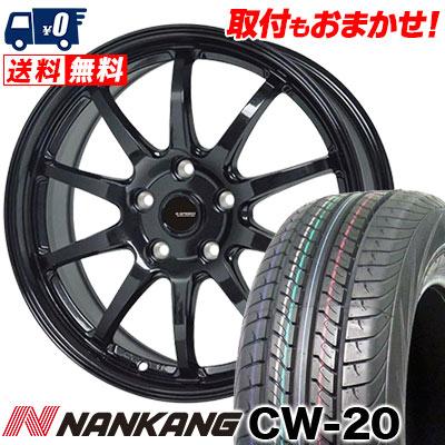 215/70R15 109/107S NANKANG ナンカン CW-20 CW-20 G.speed G-04 Gスピード G-04 サマータイヤホイール4本セット