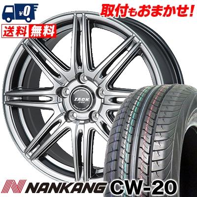 215/70R15 109/107S NANKANG ナンカン CW-20 CW-20 ZACK JP-818 ザック ジェイピー818 サマータイヤホイール4本セット