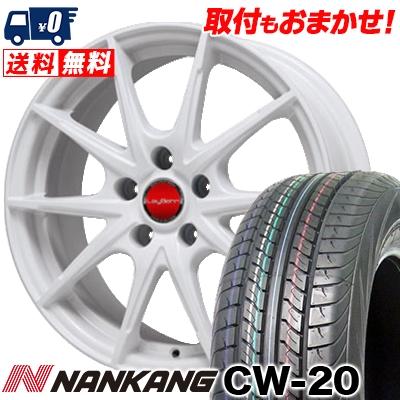 215/70R15 109/107S NANKANG ナンカン CW-20 CW-20 LeyBahn WGS レイバーン WGS サマータイヤホイール4本セット