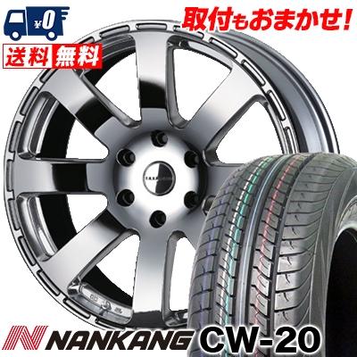 215/60R17C 109/107N NANKANG ナンカン CW-20 CW-20 Reverson R8 レベルソン R8 サマータイヤホイール4本セット for 200系ハイエース