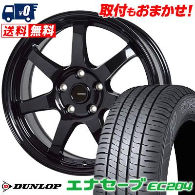 205/60R15 91H DUNLOP ダンロップ ENASAVE EC204 エナセーブ EC204 G.speed G-03 Gスピード G-03 サマータイヤホイール4本セット