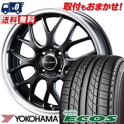 205/40R17 80W YOKOHAMA ヨコハマ DNA ECOS ES300 DNA エコス ES300 Eoro Sport Type 805 ユーロスポーツ タイプ805 サマータイヤホイール4本セット