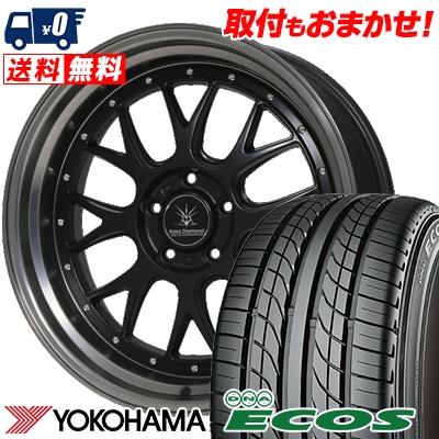 245/40R19 94W YOKOHAMA ヨコハマ DNA ECOS ES300 DNA エコス ES300 Black Diamondo BD00 ブラックダイヤモンド BD00 サマータイヤホイール4本セット