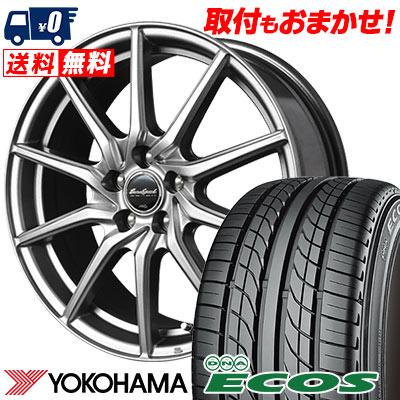 215/60R15 94H YOKOHAMA ヨコハマ DNA ECOS ES300 DNA エコス ES300 EuroSpeed G810 ユーロスピード G810 サマータイヤホイール4本セット