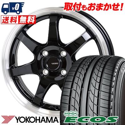 205 50R16 87V YOKOHAMA ヨコハマ DNA ECOS ES300 DNA エコス ES300 G.speed P-03 ジースピード P-03 サマータイヤホイール4本セット