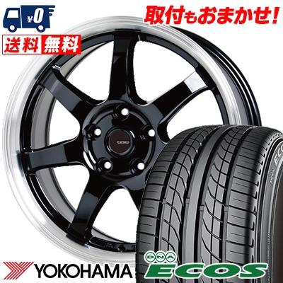 225/50R16 92V YOKOHAMA ヨコハマ DNA ECOS ES300 DNA エコス ES300 G.speed P-03 ジースピード P-03 サマータイヤホイール4本セット