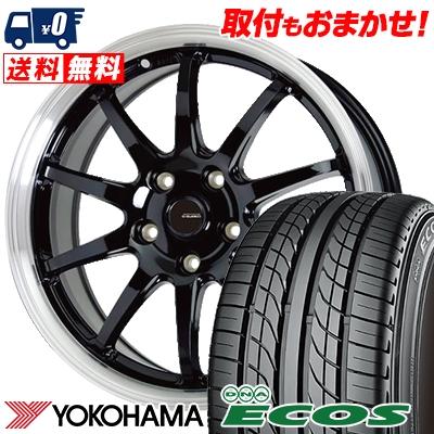 215/60R15 94H YOKOHAMA ヨコハマ DNA ECOS ES300 DNA エコス ES300 G.speed P-04 ジースピード P-04 サマータイヤホイール4本セット