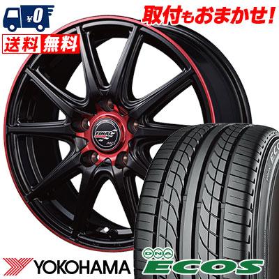 215/60R15 94H YOKOHAMA ヨコハマ DNA ECOS ES300 DNA エコス ES300 FINALSPEED GR-Volt ファイナルスピード GRボルト サマータイヤホイール4本セット
