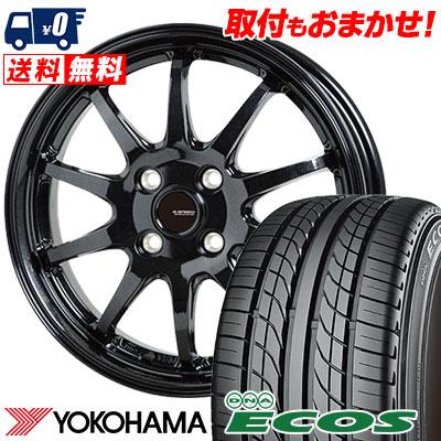 205/55R15 87V YOKOHAMA ヨコハマ DNA ECOS ES300 DNA エコス ES300 G.speed G-04 Gスピード G-04 サマータイヤホイール4本セット【取付対象】