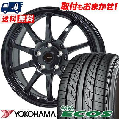 245/40R18 93W YOKOHAMA ヨコハマ DNA ECOS ES300 DNA エコス ES300 G.speed G-04 Gスピード G-04 サマータイヤホイール4本セット