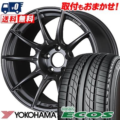 235/35R19 87W YOKOHAMA ヨコハマ DNA ECOS ES300 DNA エコス ES300 SSR GT X01 SSR GT X01 サマータイヤホイール4本セット