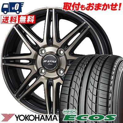 205/50R16 87V YOKOHAMA ヨコハマ DNA ECOS ES300 DNA エコス ES300 JP STYLE JERIVA JPスタイル ジェリバ サマータイヤホイール4本セット
