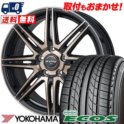 215/60R15 94H YOKOHAMA ヨコハマ DNA ECOS ES300 DNA エコス ES300 JP STYLE JERIVA JPスタイル ジェリバ サマータイヤホイール4本セット
