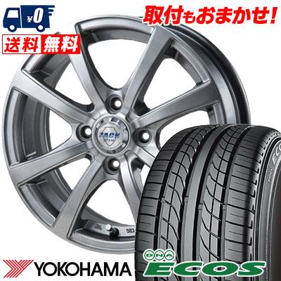 135/80R12 68S YOKOHAMA ヨコハマ DNA ECOS ES300 DNA エコス ES300 ZACK JP-110 ザック JP110 サマータイヤホイール4本セット