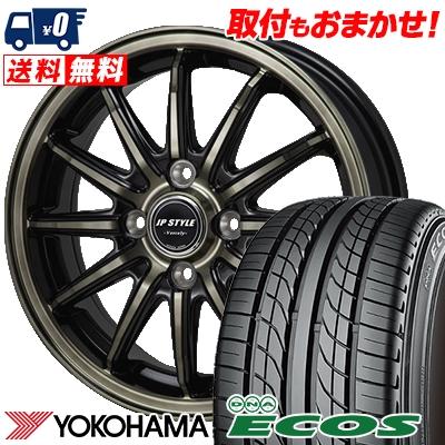 205/50R16 87V YOKOHAMA ヨコハマ DNA ECOS ES300 DNA エコス ES300 JP STYLE Vercely JPスタイル バークレー サマータイヤホイール4本セット