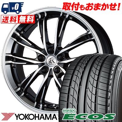 215/40R18 85W YOKOHAMA ヨコハマ DNA ECOS ES300 DNA エコス ES300 Kashina XV5 カシーナ XV5 サマータイヤホイール4本セット
