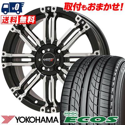 155/55R14 69V YOKOHAMA ヨコハマ DNA ECOS ES300 DNA エコス ES300 B-MUD X Bマッド エックス サマータイヤホイール4本セット