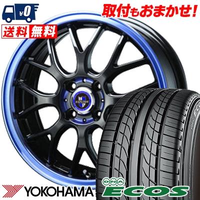 17インチ YOKOHAMA ヨコハマ DNA ECOS ES300 エコス 215 40 スーパーセール 公式サイト 17 RBM EXPLODE サマーホイールセット エクスプラウド サマータイヤホイール4本セット 83W 取付対象 215-40-17 40R17