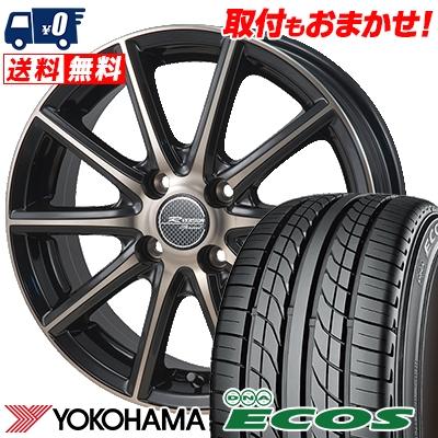 205/55R15 87V YOKOHAMA ヨコハマ DNA ECOS ES300 DNA エコス ES300 MONZA R VERSION Sprint モンツァ Rヴァージョン スプリント サマータイヤホイール4本セット