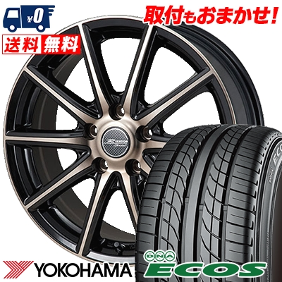 215/40R18 85W YOKOHAMA ヨコハマ DNA ECOS ES300 DNA エコス ES300 MONZA R VERSION Sprint モンツァ Rヴァージョン スプリント サマータイヤホイール4本セット