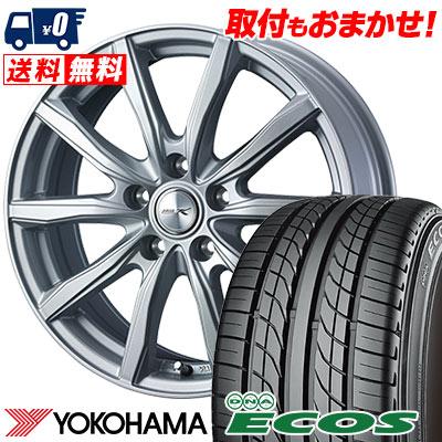 215/60R15 94H YOKOHAMA ヨコハマ DNA ECOS ES300 DNA エコス ES300 JOKER SHAKE ジョーカー シェイク サマータイヤホイール4本セット