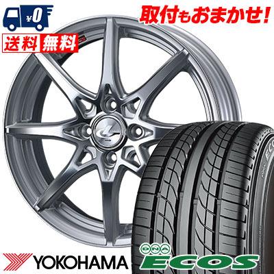 205/50R16 87V YOKOHAMA ヨコハマ DNA ECOS ES300 DNA エコス ES300 weds LEONIS SV ウェッズ レオニス SV サマータイヤホイール4本セット