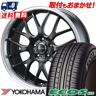 205/50R17 89V YOKOHAMA ヨコハマ ECOS ES31 エコス ES31 Eoro Sport Type 805 ユーロスポーツ タイプ805 サマータイヤホイール4本セット