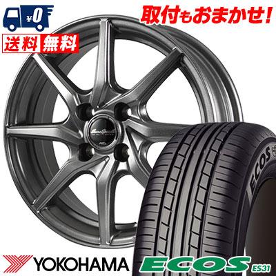 165/65R14 79S YOKOHAMA ヨコハマ ECOS ES31 エコス ES31 EuroSpeed G810 ユーロスピード G810 サマータイヤホイール4本セット