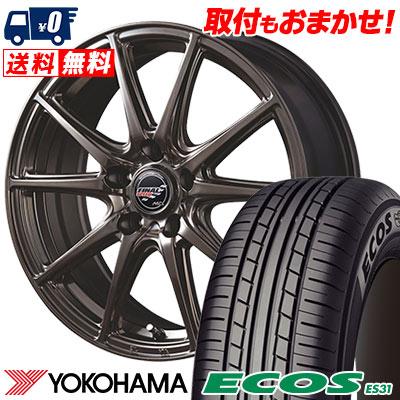 215/65R15 96S YOKOHAMA ヨコハマ ECOS ES31 エコス ES31 FINALSPEED GR-Volt ファイナルスピード GRボルト サマータイヤホイール4本セット