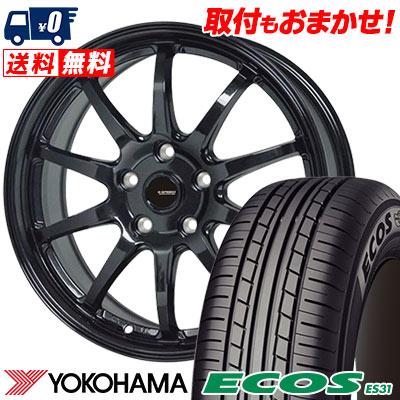 215/60R16 95H YOKOHAMA ヨコハマ ECOS ES31 エコス ES31 G.speed G-04 Gスピード G-04 サマータイヤホイール4本セット