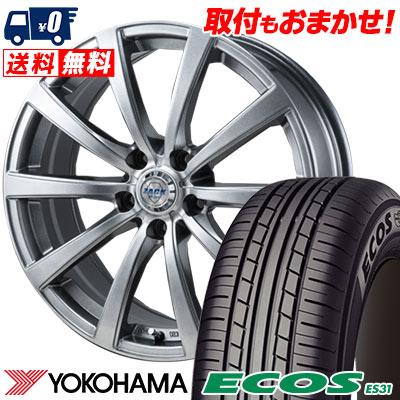 215/65R15 96S YOKOHAMA ヨコハマ ECOS ES31 エコス ES31 ZACK JP-110 ザック JP110 サマータイヤホイール4本セット