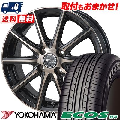 185/60R15 84H YOKOHAMA ヨコハマ ECOS ES31 エコス ES31 MONZA R VERSION Sprint モンツァ Rヴァージョン スプリント サマータイヤホイール4本セット