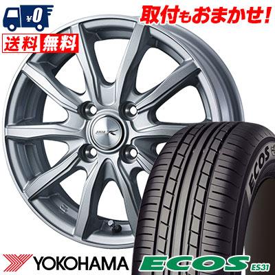 155/80R13 79S YOKOHAMA ヨコハマ ECOS ES31 エコス ES31 JOKER SHAKE ジョーカー シェイク サマータイヤホイール4本セット