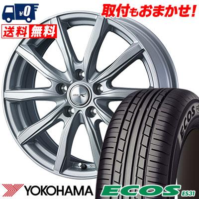 215/55R16 93V YOKOHAMA ヨコハマ ECOS ES31 エコス ES31 JOKER SHAKE ジョーカー シェイク サマータイヤホイール4本セット