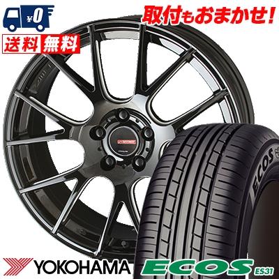 205/50R17 89V YOKOHAMA ヨコハマ ECOS ES31 エコス ES31 CIRCLAR RM-7 サーキュラー RM-7 サマータイヤホイール4本セット
