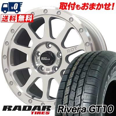 265 70R16 111S RADAR レーダー Rivera GT10 リベラ ジーティーテン THE ROT WHEELS RO401 THE ROTホイール RO401 サマータイヤホイール4本セット 成人式 楽天年間ランキング受賞 敬老の日