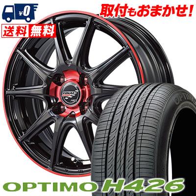 195/50R16 84H HANKOOK ハンコック OPTIMO H426 オプティモ H426 FINALSPEED GR-Volt ファイナルスピード GRボルト サマータイヤホイール4本セット